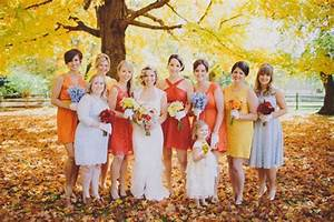 fall wedding bridesmaid dresses With fall wedding colors bridesmaid dresses