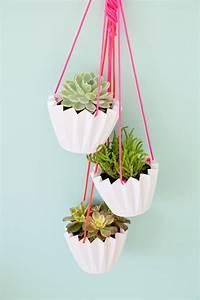 5, minute, diy, hanging, planters
