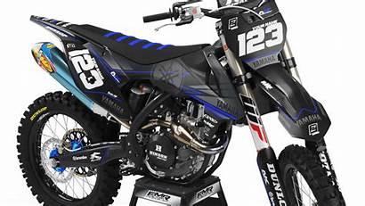 Dirt Bike Graphics Yamaha Matte Factory Kit