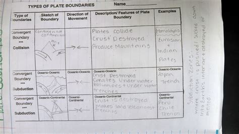 worksheet plate boundaries worksheet grass fedjp