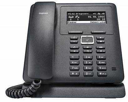 Telefon Gigaset Voip Schnurgebunden Schwarz Mwb Reichelt