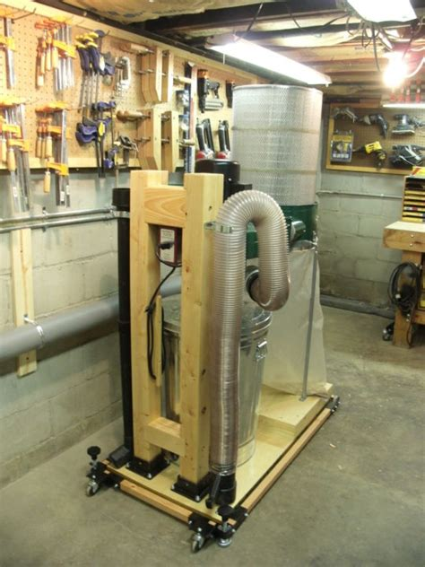 Harbor Freight Dust Collector Conversion Woodworking