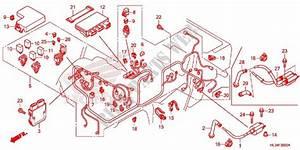 Wire Harness  Battery For Honda Pioneer 700 Ac 2014   Honda