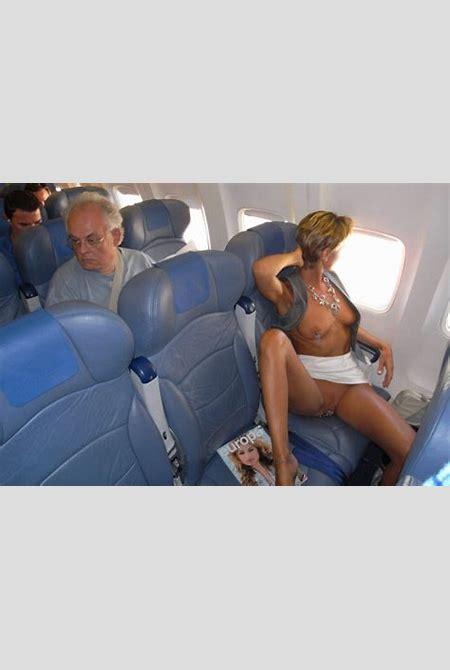 Flight Attendants Micro Mini Skirt No Underwear