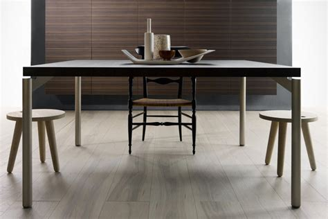 wood top rectangle modern dining room tables stainless