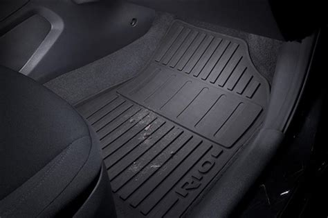 oem genuine   kia rio  weather rubber floor