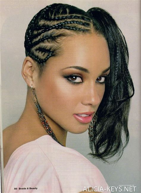 American Braids Hairstyles For by Hairstyles Canerow Side Ponytail Hair