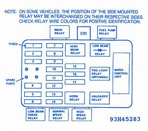 Bmw 528e 1987 Main Relay Fuse Box  Block Circuit Breaker Diagram