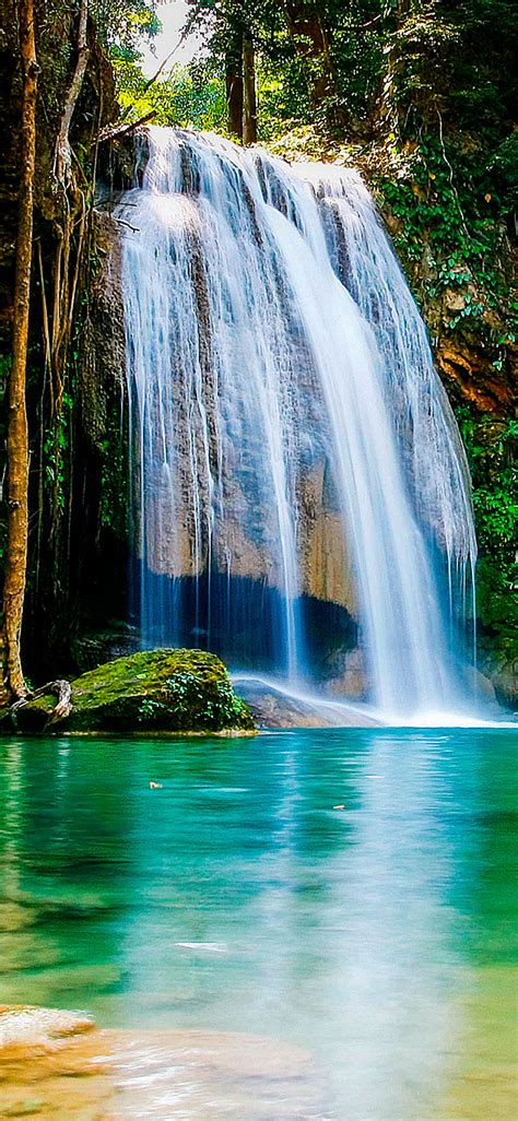 Wallpaper Iphone 7 Water Fall by Waterfall Wallpaper For Iphone X 8 7 6 Free