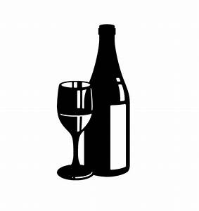 Free Wine Bottle And Glass, Download Free Clip Art, Free ...