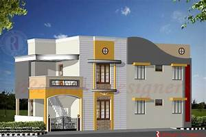 Home Design: Indian House Design Double Floor House ...