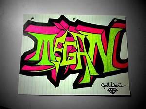 Megan Graffiti Drawing by DavisMedia on DeviantArt