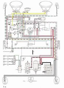 Thesamba Type 1 Wiring Diagrams 1956 Diagram Ford Ignition