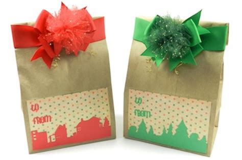 hand made gift bags for christmas gift wrapping handmade gift bags bowdabra