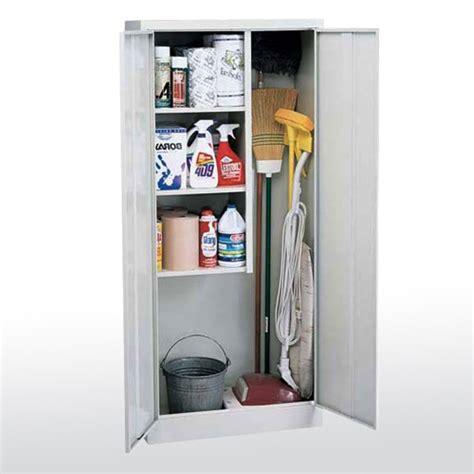 janitorial storage cabinet lozier store fixtures
