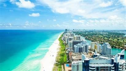 Miami Beach Wallpapers Horizon Coast Cool Coastline