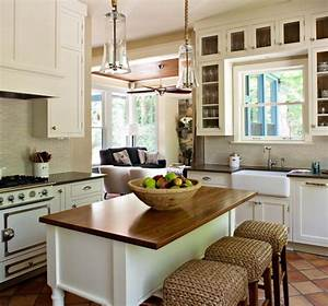 38 super cozy and charming cottage kitchens digsdigs for Cottage kitchen design