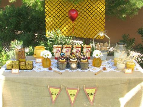Winnie The Pooh Decoration Ideas - winnie the pooh baby shower ideas food favors
