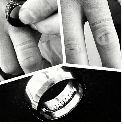 wedding ring finger malaysia quot basketball la quot malaysia pargo creates wedding band that embosses married finger