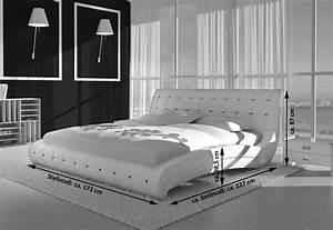 Bett 140 Cm : sam polsterbett doppelbett bett 140 cm wei vederi ~ Orissabook.com Haus und Dekorationen