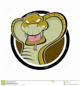 Angry cartoon cobra stock vector. Image of reptile ...