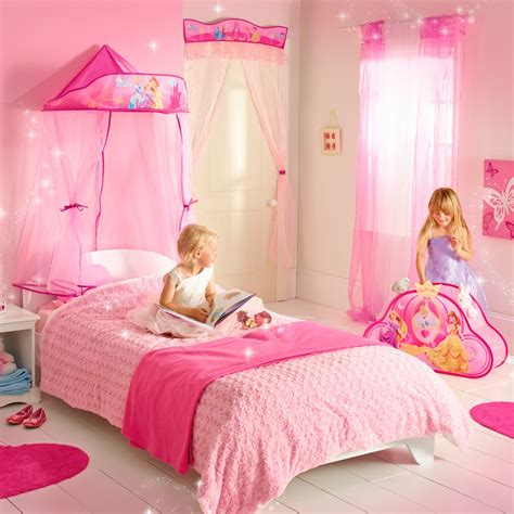 chambre fille disney princess ready room bed canopy great kidsbedrooms