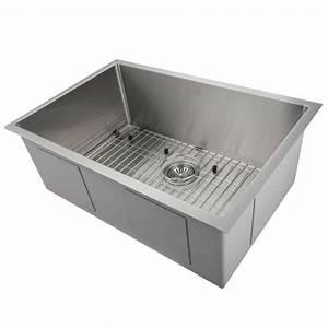 Zline Farmhouse 36 U0026quot  Double Bowl Apron Sink Stainless Steel