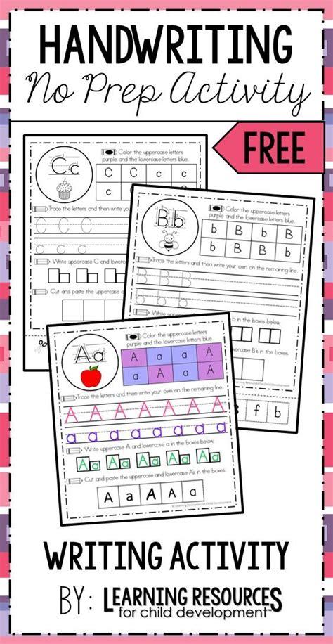 handwriting activity sheets  images handwriting