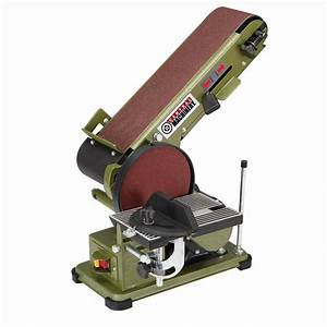 "Combination 4"" x 36"" Belt / 6"" Disc Sander"