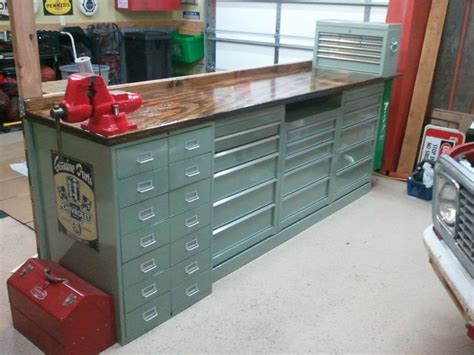 what i did with my 40 home depot tool cabinets the garage journal board would make great