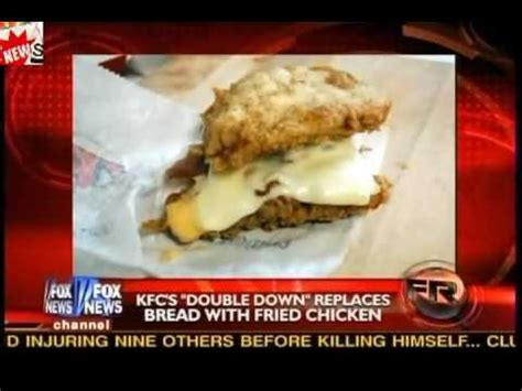 Kfc Double Down Sandwich Replaces Bread With Fried Chicken