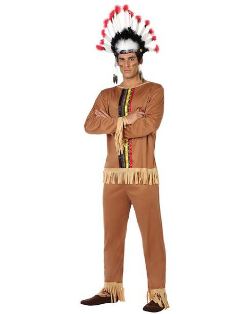 Disfraz de indio hombre: Disfraces adultos y disfraces