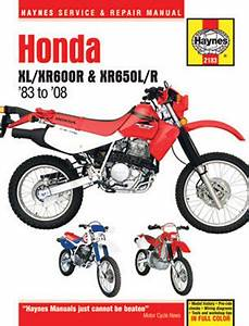 Honda Xl  Xr600r And Xr650l  R Haynes Repair Manual  1983