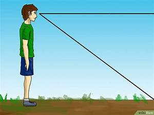 Entfernung Von Gewitter Berechnen : die entfernung bis zum horizont berechnen wikihow ~ Themetempest.com Abrechnung
