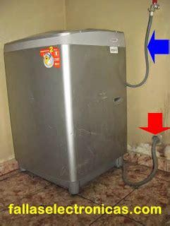 lavadora no de llenar no retiene agua se va al drenaje