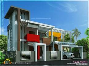 modern home plans contemporary house in unique design indian house plans