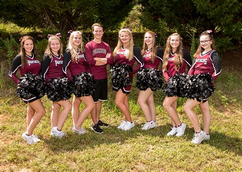 cheerleading peachtree academy private school