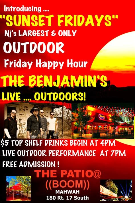 outdoor happy hour in mahwah at the patio boozy burbs