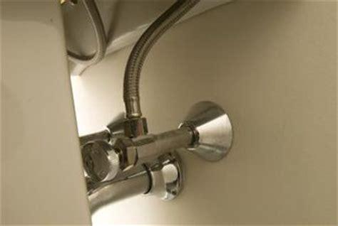 sink water shut off valve connecting sink shut off valves to pex water lines home