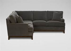 Unique ethan allen sectional sofas 68 in most comfortable for Ethan allen sectional sofa with chaise