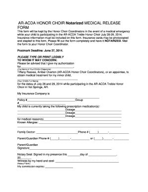 notarized medical release form bill of sale form iowa notarized medical release form