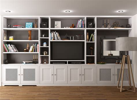 wall unit tv bookcase fitted bookcase around tv unit chelsea
