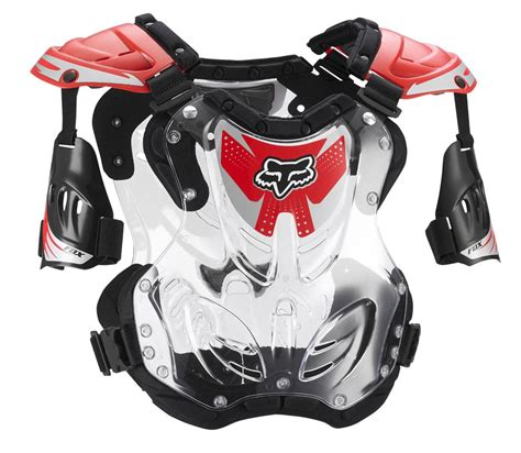 Fox Racing R3 Roost Deflector Guard Chest Protector Large