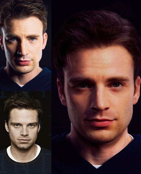 Sebastian Stan & Chris Evans picture morph | Man thing ...