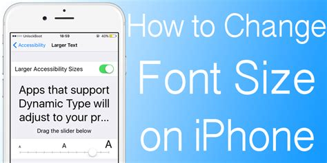 how to change font style on iphone how to change font size on iphone