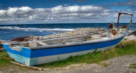 Small Boat Used To Get To Land by A Boat For Newfoundland Mckinnell Photography