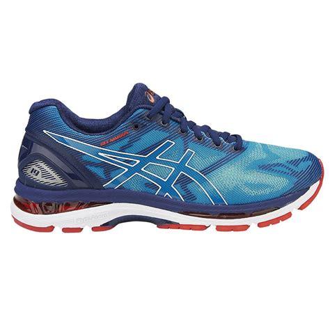 Asics Gel Nimbus 19 Mens Running Shoes (Blue)   Direct Running