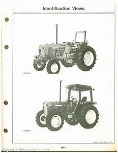 John Deere 2350 And 2550 Tractors Operators Manual