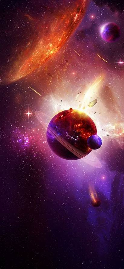 Space Phone 2340 1080 Wallpapers