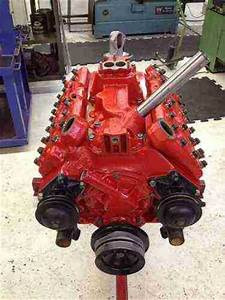 Find New Vermillion  Red   Newly Rebuilt Flathead V8